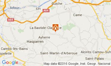 Carte Biarritz Bungalow 53095