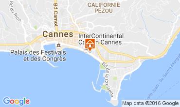 Carte Cannes Appartement 88551