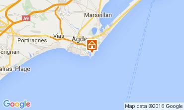 Carte Cap d'Agde Appartement 103539