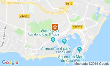 Carte Cap d'Agde Studio 119193