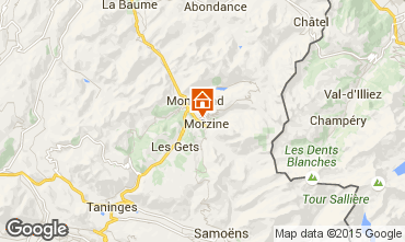 Carte Morzine Appartement 39671