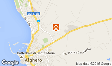Carte Alghero Villa 59944