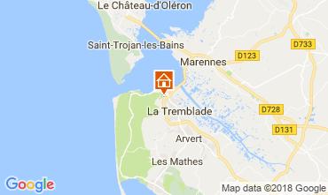 Carte Ronce-les-Bains Mobil-home 114344