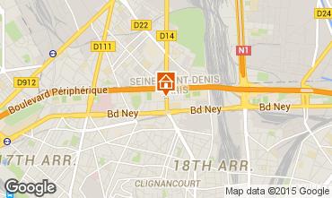 Carte PARIS Appartement 13743