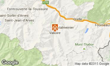 Carte Valloire Appartement 63310