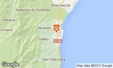 Carte Ghisonaccia Villa 98770