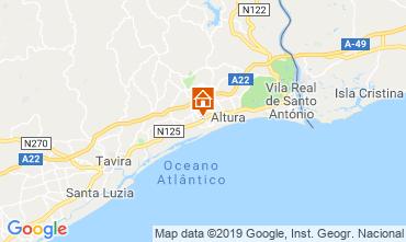 Carte Tavira Villa 117553