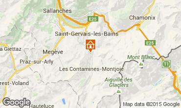 Carte Saint Gervais Mont-Blanc Appartement 2566