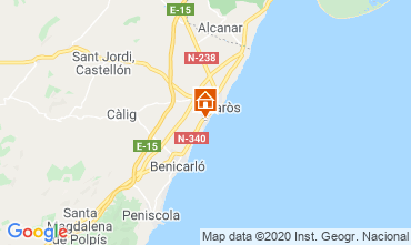 Carte Vinaroz Villa 103024