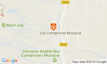 Carte Les Contamines Montjoie Appartement 111733