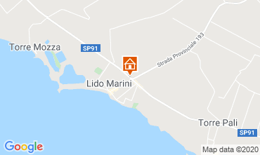 Carte Lido Marini Villa 86584