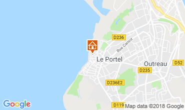 Carte Boulogne/mer Gite 108614