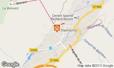 Carte Chamonix Mont-Blanc Appartement 52454