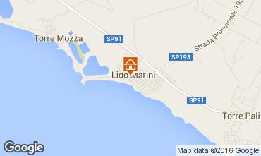 Carte Lido Marini Villa 86623
