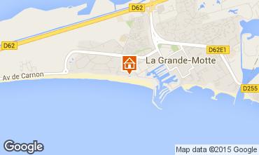 Carte La Grande Motte Studio 98959