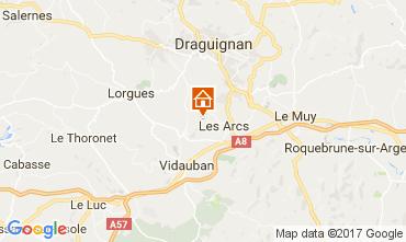Carte Les Arcs-sur-Argens Gite 108268