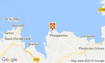 Carte Plougasnou Villa 114288