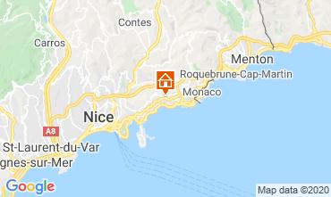 Carte Monaco Villa 5424
