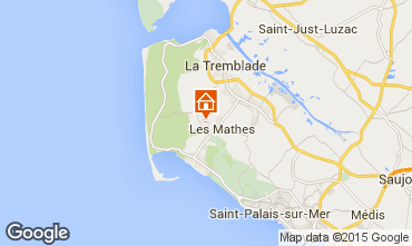 Carte La Palmyre Mobil-home 98468