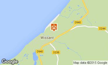 Carte Wissant Gite 91863