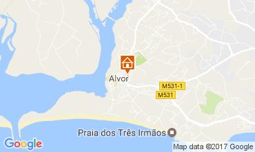 Carte Alvor Villa 108656
