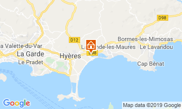 Carte Hyères Villa 119587