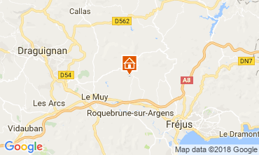 Carte Roquebrune sur Argens Villa 115161