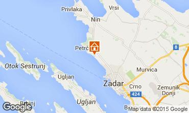 Carte Zadar Appartement 44376