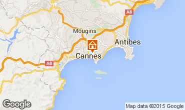Carte Cannes Appartement 72431