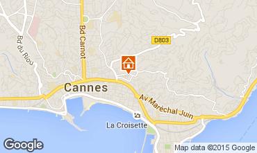 Carte Cannes Appartement 72431