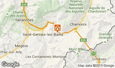 Carte Chamonix Mont-Blanc Chalet 17589