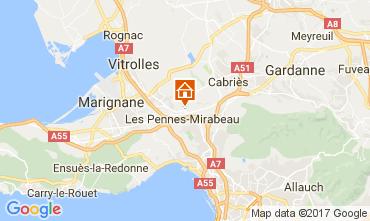 Carte Aix en Provence Appartement 107983