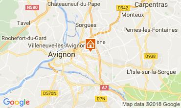 Carte Avignon Villa 114848