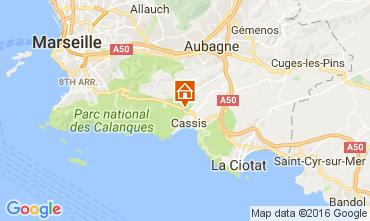 Carte Cassis Appartement 106595