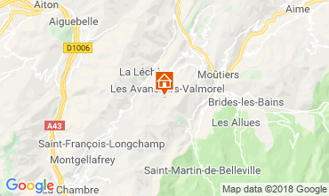 Carte Valmorel Appartement 117342