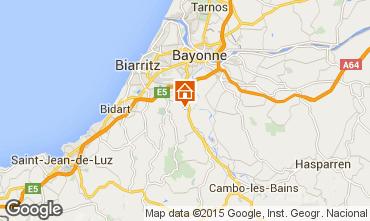 Carte Biarritz Villa 88911