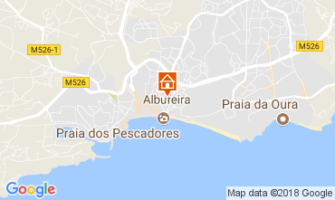 Carte Albufeira Appartement 113295
