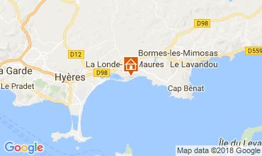 Carte La Londe les Maures Maison 114153