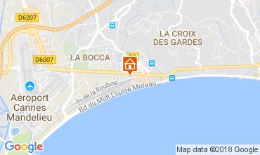 Carte Cannes Appartement 95292