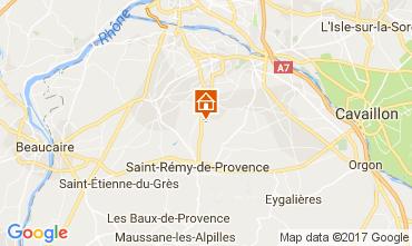 Carte Saint Rémy de Provence Villa 110842