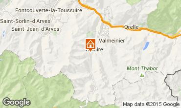 Carte Valloire Chalet 49295