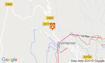 Carte Valmeinier Chalet 3455