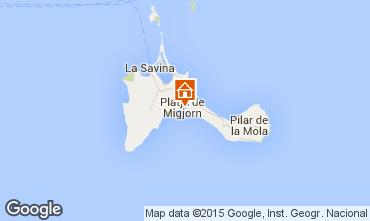 Carte Formentera Appartement 76917