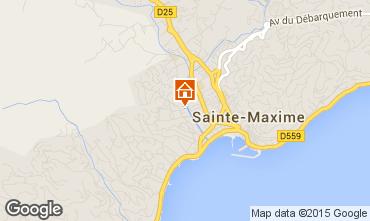 Carte Sainte Maxime Appartement 72096