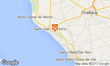 Carte Saint Jean de Monts Appartement 9470
