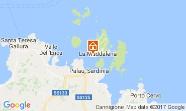 Carte La Maddalena Appartement 53473