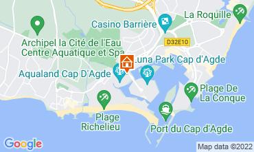Carte Cap d'Agde Studio 71830