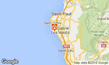 Carte La Saline les Bains Villa 102442