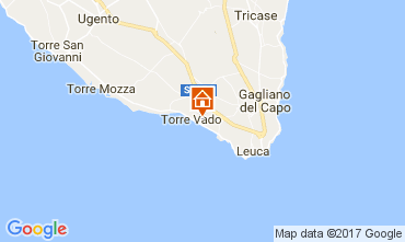 Carte Santa Maria di Leuca Villa 76913