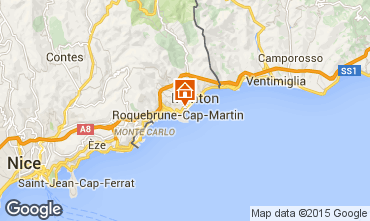 Carte Roquebrune Cap Martin Appartement 56046